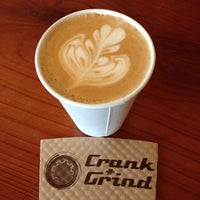Photo taken at Crank & Grind by Ross T. on 4/3/2014