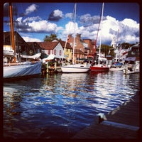 Photo taken at Bowen's Wharf by Ross T. on 9/24/2012