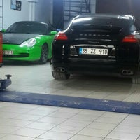 Photo taken at Porsche Line by Ali Ü. on 10/7/2015