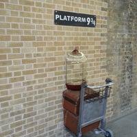 Photo taken at Platform 9¾ by Mark on 12/27/2012