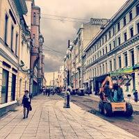 Photo taken at Bolshaya Dmitrovka Street by Anna S. on 9/3/2013
