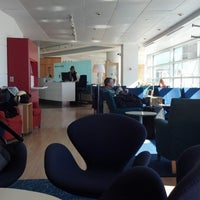 Photo taken at Scandinavian Airlines (SAS) Lounge by Margaret B. on 2/17/2013