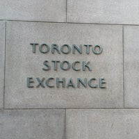 Photo taken at Toronto stock exchange by Monica M. on 9/15/2017