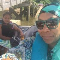 Photo taken at Pennsauken Boat Ramp by Sulena R. on 8/13/2016