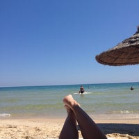 Photo taken at Beach by Аню🌞 М. on 7/18/2014