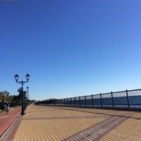 Снимок сделан в Набережная Олимпийского парка пользователем Андрей М. 10/30/2015