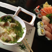 Photo taken at Sushi Laranjeiras by Jefferson M. on 6/21/2013