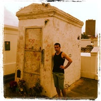 Photo taken at Tomb Of Marie Laveau by Robot55 on 9/30/2012