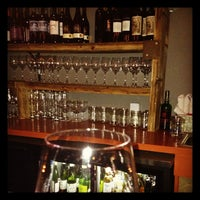 Photo taken at Kaia Wine Bar by Laura D. on 11/29/2012