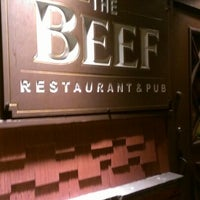 Photo taken at The Beef Restaurant & Pub by Nick L. on 2/28/2013