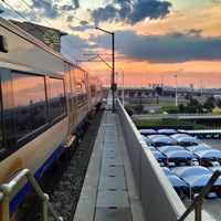 Photo taken at Gautrain OR Tambo International Airport Station by Andy A. on 3/21/2013