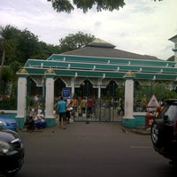 Photo taken at Masjid Raya Al-Musyawarah by Alponso P. on 1/4/2013