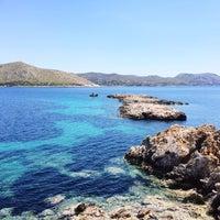 Photo taken at Χερσόνησος Άγιος Νικόλαος by Markus on 4/23/2015