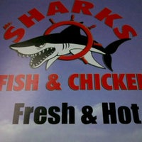 Photo taken at Mr. Shark's Fish and Chicken by Barbie G. on 11/6/2012