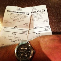 Das Foto wurde bei Cines Unidos von Jean Pier D. am 1/27/2013 aufgenommen