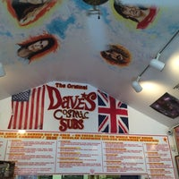 Photo taken at Dave's Cosmic Subs by Alex K. on 10/10/2014