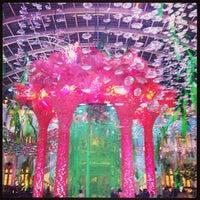 Photo taken at MGM Macau 美高梅 by Baby U. on 5/1/2013