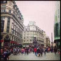 Photo taken at Leicester Square by Baby U. on 8/17/2013