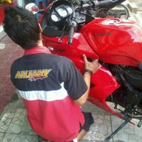 Photo taken at Anjany Racing by osa s. on 1/29/2013