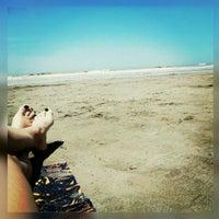 Photo taken at Playa La Punta by Nereyda S. on 12/27/2015
