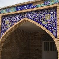 Photo taken at Behesht-e Masoumeh   بهشت معصومه by mina n. on 5/7/2016