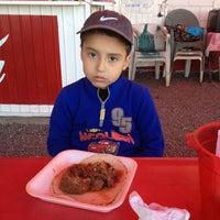 Photo taken at Tacos de Cabeza Chino Mario by Roman R. on 2/23/2013