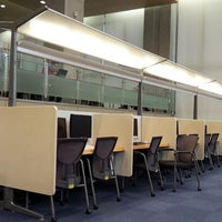 Photo taken at Yonsei University Samsung Library by Y.R. K. on 12/29/2012