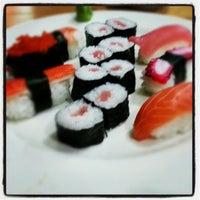 Photo taken at Pokke Special Sushi & Sashimi by Tines P. on 10/9/2012