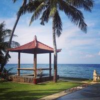 Photo taken at Liberty Dive Resort Tulamben by Maulana N. on 5/10/2013