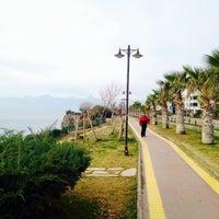 Photo taken at Fener Sahil Park by Begüm A. on 1/19/2014