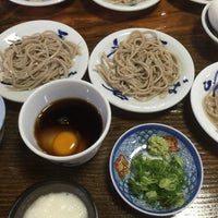 Photo taken at 出石皿そば 五萬石 福知山店 by mizobell on 6/20/2015