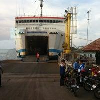 Photo taken at Pelabuhan Merak by Fahmi A. on 10/30/2012