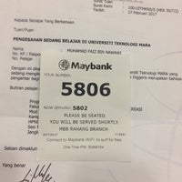 Photo taken at Maybank by Muhamad F. on 3/27/2017