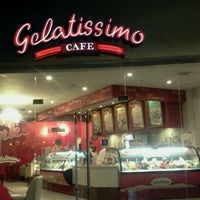 Photo taken at Gelatissimo Cafe by Hannu K. on 10/23/2012