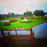 Photo taken at Danau Taman Mini Indonesia Indah by Aldo M. on 1/8/2013