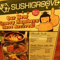 Photo taken at SushiGroove by Leo_MTV on 3/2/2013