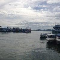 Photo taken at Chok Risda Pier by Sunny S. on 11/17/2012