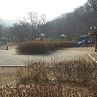 Photo taken at 율동공원 놀이터 by Kaeun L. on 2/23/2014