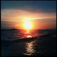 Photo taken at Dongtan Beach by Jack L. on 6/1/2013