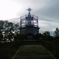 Photo taken at Tugu Katulistiwa (Equator) by Bastian A.S on 1/6/2013