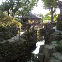 Photo taken at Humble Administrator's Garden by Fabio A. on 4/11/2013