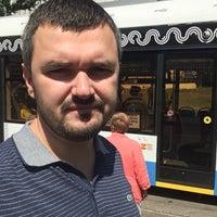 Photo taken at Трамвайная остановка «Серпуховская застава» by Igor K. on 6/22/2018