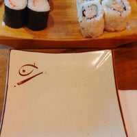 Photo taken at Standing Sushi Bar by Sylvia 'cetz' W. on 8/10/2014