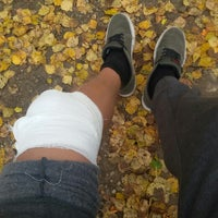 """Photo taken at Paintball park """"PIF PAF"""" by Vladislavs B. on 10/23/2015"""