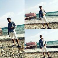 Photo taken at vizyon beach by Muhammed A. on 9/3/2015