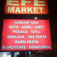 Photo taken at Efe Market by Samet Y. on 3/5/2016