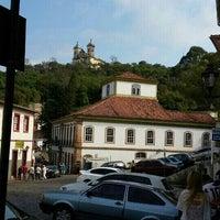 Photo taken at Centro Histórico de Ouro Preto by Vicente C. on 9/6/2015