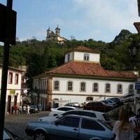 Photo taken at Centro Histórico de Ouro Preto by Vicente C. on 9/5/2015