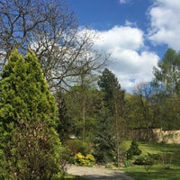 Photo taken at Botanická zahrada by Raba3ah A. on 4/29/2016