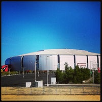 Photo taken at University of Phoenix Stadium by Kimberlee C. on 1/8/2013